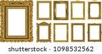 set of decorative vintage...   Shutterstock .eps vector #1098532562