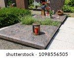 exclusive marble grave design  | Shutterstock . vector #1098556505