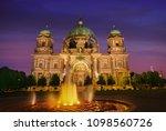 berlin cathedral berliner dom... | Shutterstock . vector #1098560726