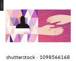 simple things   color   flat... | Shutterstock .eps vector #1098566168