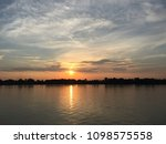 sunset at laos | Shutterstock . vector #1098575558