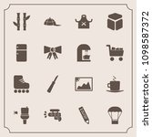 modern  simple vector icon set... | Shutterstock .eps vector #1098587372