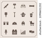 modern  simple vector icon set... | Shutterstock .eps vector #1098601232