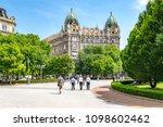budapest  hungary   may 10 ...   Shutterstock . vector #1098602462