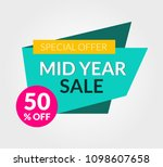 mid year 50 off sale discount...