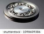 close up image of a spindle... | Shutterstock . vector #1098609386