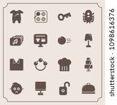 modern  simple vector icon set... | Shutterstock .eps vector #1098616376