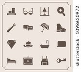 modern  simple vector icon set... | Shutterstock .eps vector #1098620972