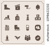 modern  simple vector icon set... | Shutterstock .eps vector #1098622232