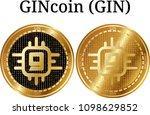 set of physical golden coin...   Shutterstock .eps vector #1098629852