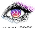 abstract isolated vector... | Shutterstock .eps vector #1098642986