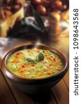 hot beans soup vegetables | Shutterstock . vector #1098643568