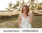 young  attractive and happy...   Shutterstock . vector #1098646832