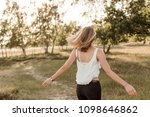 young  attractive and happy...   Shutterstock . vector #1098646862