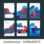 abstract cover design  business ... | Shutterstock .eps vector #1098650372