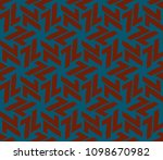 simple modern seamless... | Shutterstock .eps vector #1098670982