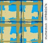 tartan. seamless grunge pattern ... | Shutterstock .eps vector #1098682676