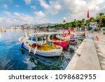 bodrum  turkey   may 25  2018   ... | Shutterstock . vector #1098682955