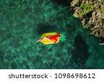 summer lifestyle portrait of... | Shutterstock . vector #1098698612