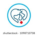 pet shop  veterinary clinic... | Shutterstock .eps vector #1098710738