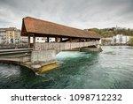 luzern  switzerland   april 16  ... | Shutterstock . vector #1098712232