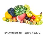 composition with fruits... | Shutterstock . vector #109871372
