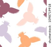 seamless vector pattern with... | Shutterstock .eps vector #1098719918
