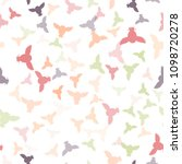 seamless vector pattern with... | Shutterstock .eps vector #1098720278