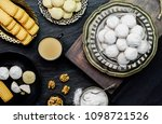 cookies for celebration of  el  ... | Shutterstock . vector #1098721526