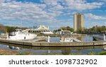 port credit  canada   may 20 ... | Shutterstock . vector #1098732902