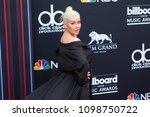 christina aguilera attends the... | Shutterstock . vector #1098750722