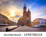 old town market square of...   Shutterstock . vector #1098788318