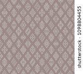 ethnic boho seamless pattern... | Shutterstock .eps vector #1098804455