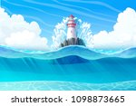 Vector Lighthouse  Light House  ...
