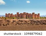 old fortress under blue sky in Morocco