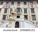piazza dei cavalieri  pisa ... | Shutterstock . vector #1098885152