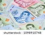 banknotes of the tailand  new...   Shutterstock . vector #1098910748