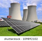 Solar Energy Panels Before A...