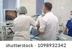gastroenterologist doctors with ... | Shutterstock . vector #1098932342