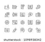 simple set of engineering... | Shutterstock .eps vector #1098938342