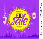 sale banner or sale poster for... | Shutterstock .eps vector #1098982196