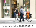 dresden  germany  may 7th 2018. ... | Shutterstock . vector #1098983216