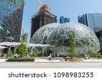 seattle  washington circa may... | Shutterstock . vector #1098983255