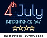 4 july happy independence day... | Shutterstock .eps vector #1098986555