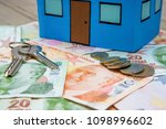 house and money | Shutterstock . vector #1098996602