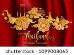 thailand travel concept the...   Shutterstock .eps vector #1099008065