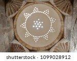 light dome of hammam in the... | Shutterstock . vector #1099028912
