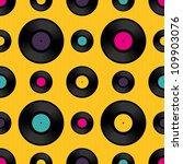 vinyl record seamless... | Shutterstock .eps vector #109903076
