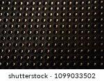 black golden dotted texturised... | Shutterstock . vector #1099033502