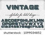 font alphabet script typeface...   Shutterstock .eps vector #1099034852